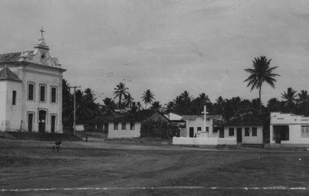 Itapoã (Igreja e Largo) no final do século XIX. Foto: Arquivo A Tarde